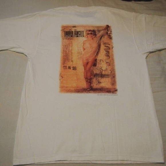 Fruit of the Loom Other - Farrah Fawcett ALL OF ME - Playboy PROMO TShirt
